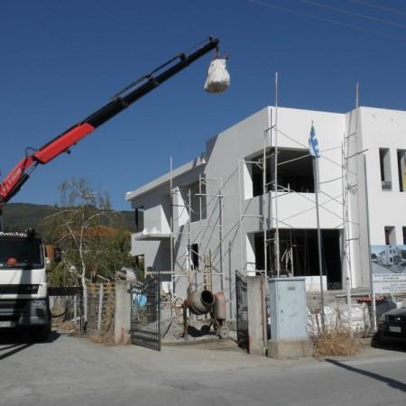 Προμήθεια υλικών σε οικοδομές